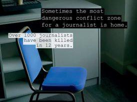 Gazeteciler için en tehlikeli yer