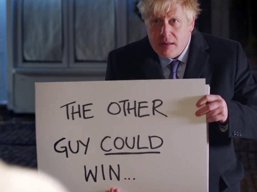 Boris Johnson'dan Love, Actually parodisi-01