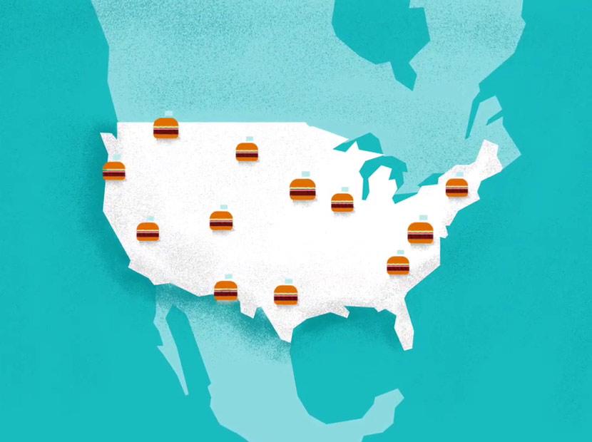 Burger King'den her rötara bir burger hediye