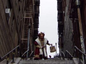 Joker merdivenlerine Kral müdahalesi