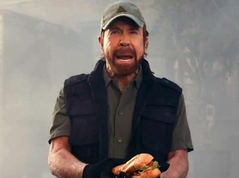 Açlığın düşmanı Chuck Norris