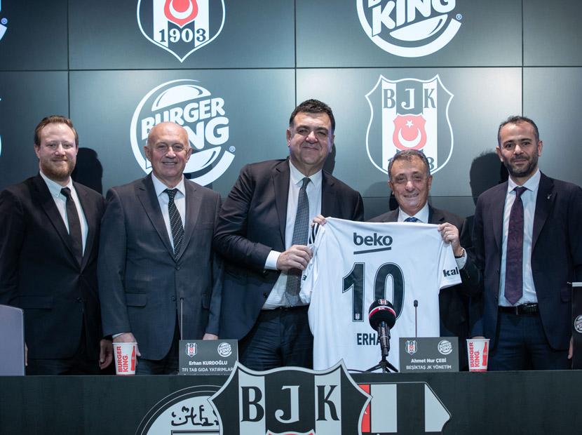 Beşiktaş ve TAB Gıda'dan sponsorluk anlaşması
