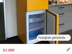 Havas İstanbul'dan satılık buzdolabı