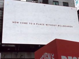 Billboard'suzluğa billboard'lu davet
