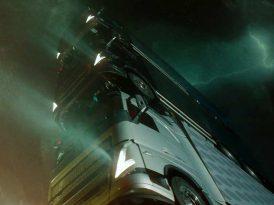 Volvo'dan dört araçlık bir kamyon kulesi
