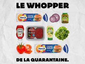 Burger King Fransa'dan Karantina Whopper tarifi