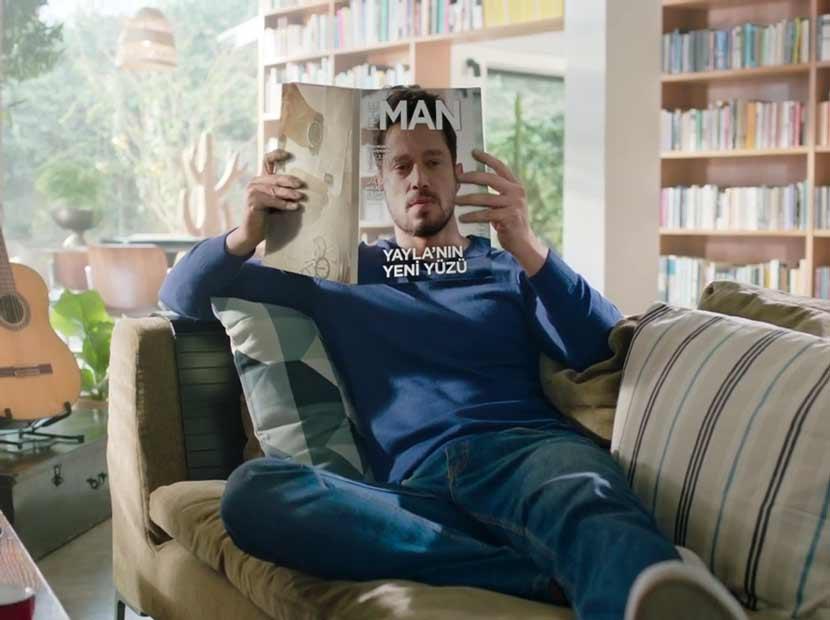 Yayla'nın yeni reklam yüzü Murat Boz