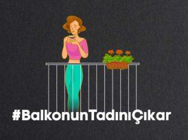 Perfection İstanbul'dan balkonun tadını çıkarma çağrısı