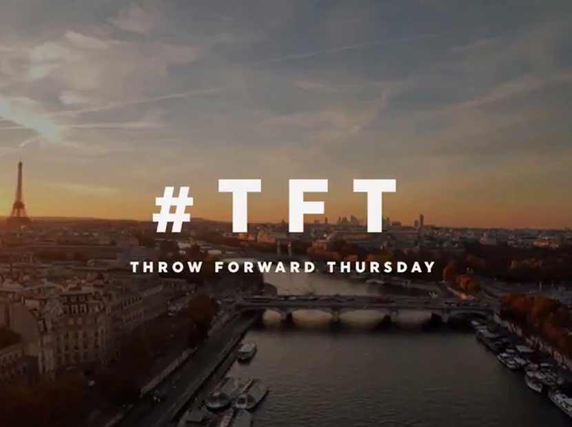 THY'den yeni bir akım: #ThrowForwardThursday