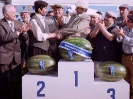 Şampiyon karpuza layık bir buzdolabı