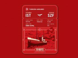 19 Mayıs'ta milyonları bir araya getiren uçuş: TK1919