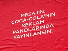 Coca-Cola gelecek planlarınızı reklam panolarına taşıyor