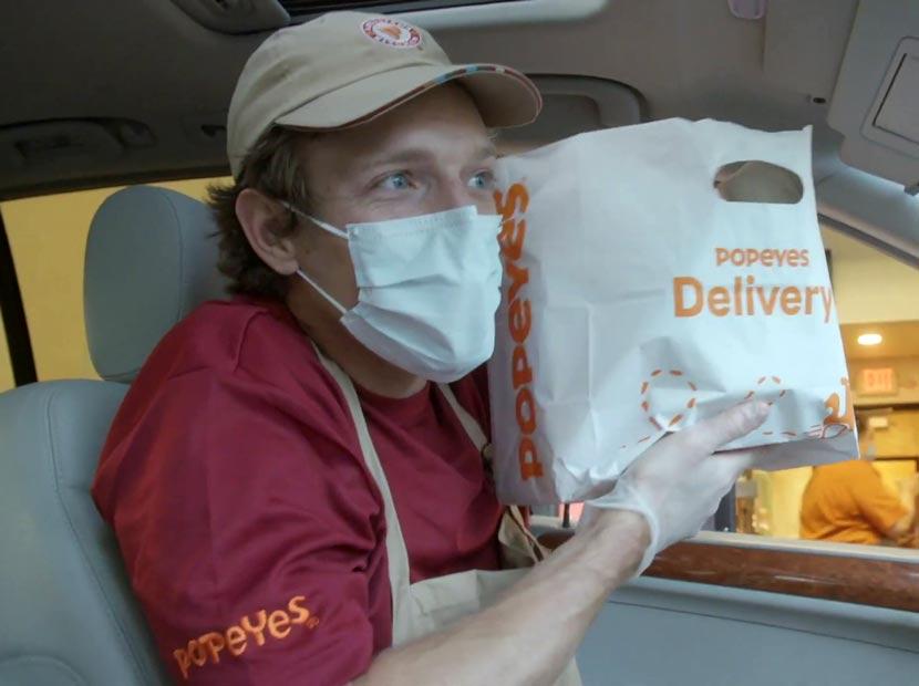 Pizza siparişlerine Popeyes müdahalesi
