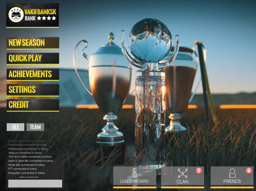VakıfBank SK'dan oyun temalı kadro tanıtımı