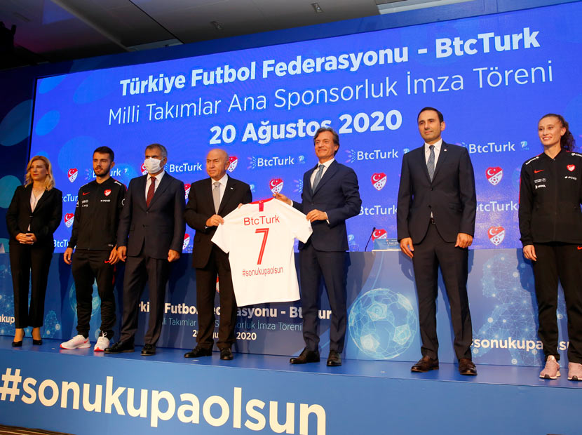 BtcTurk ve TFF'den sponsorluk anlaşması