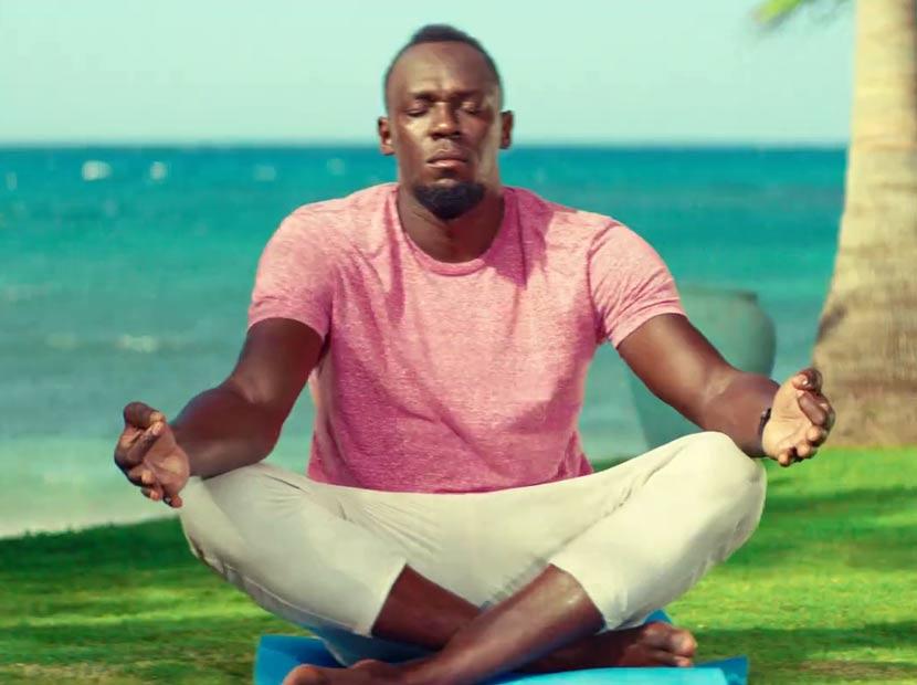 Dinginlik Usain Bolt'un da hakkı