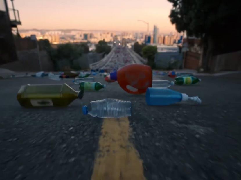 Plastik şişelerin iyiliğe yolculuğu