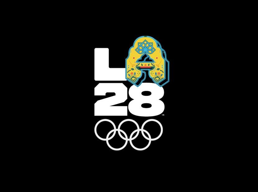 2028 Yaz Olimpiyatları'ndan dinamik logo