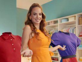 Seda Bakan ile renkli çamaşırların dansı 02
