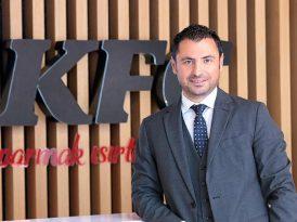 KFC Türkiye'ye yeni genel müdür