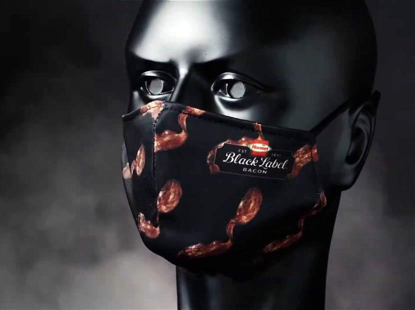 Pastırma esanslı yüz maskesi