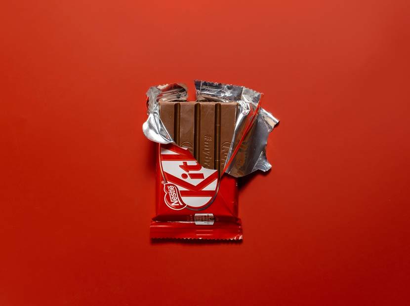 KitKat'tan slogan molası