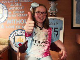 9 yaşındaki çocuktan Manchester City'ye forma tasarımı