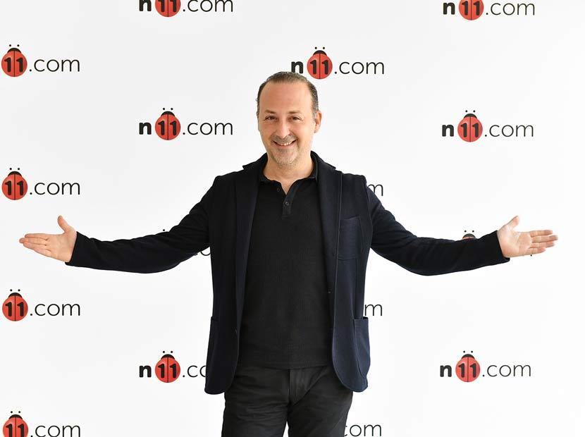n11.com'un yeni reklam yüzü Tolga Çevik