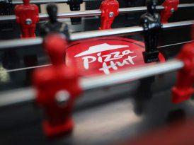 Hem langırt hem pizza kutusu