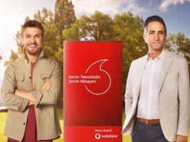 Vodafone'un yeni reklam yüzü Aras Bulut İynemli