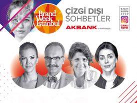 Brand Week Istanbul'da Çizgi Dışı Sohbetler'e davetlisiniz
