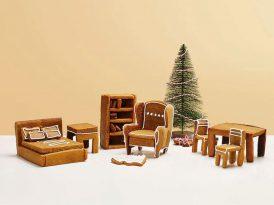 IKEA mobilyaları şeklinde kurabiyeler