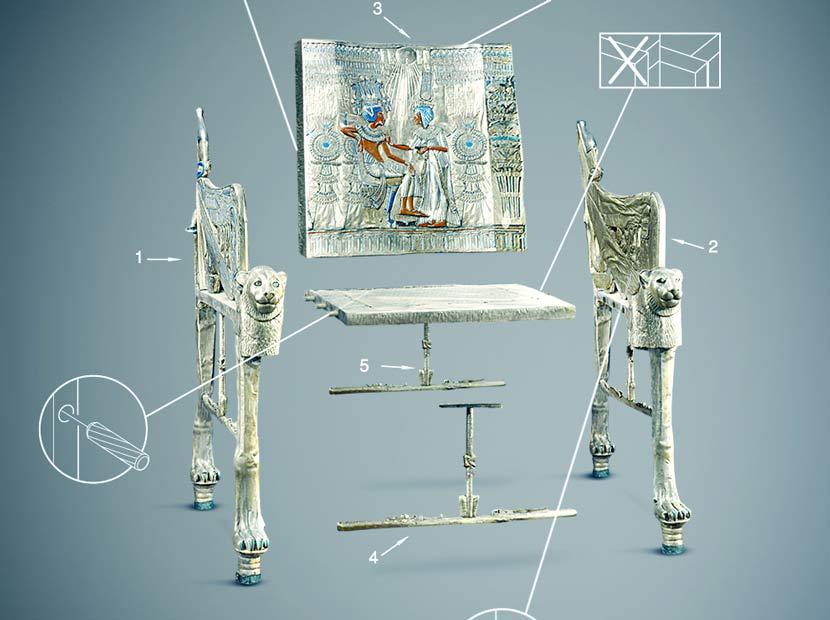 Mısır'ın ikonik eserlerine IKEA yorumu