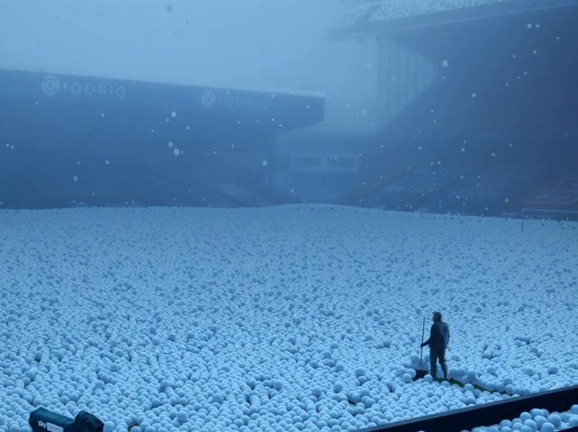 Hava durumu: Futbol topu yağışlı
