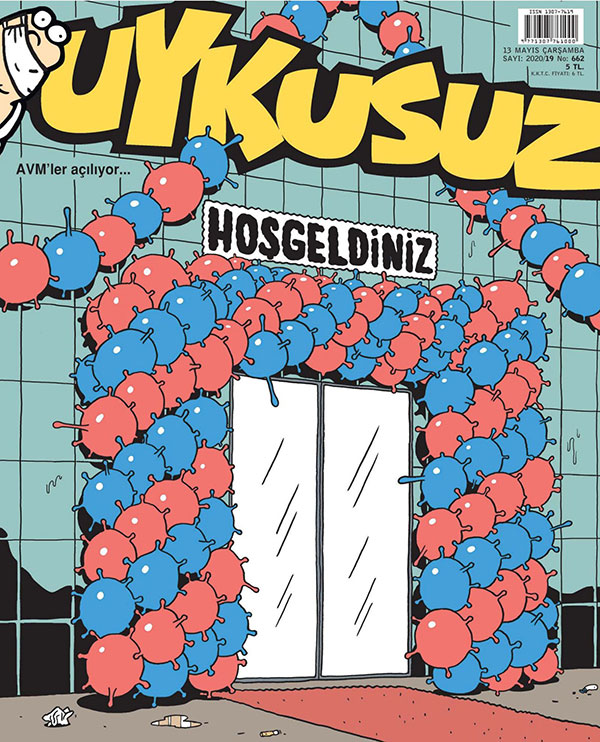 2020'nin en iyi mizah dergisi kapakları