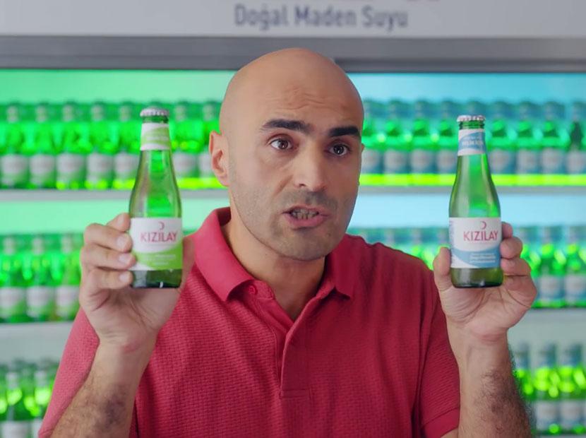 Kızılay Maden Suyu'nun reklam yüzü Alper Kul