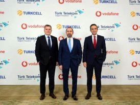 Turkcell, Türk Telekom ve Vodafone'dan işbirliği