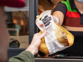 Burger King Fransa'dan her siparişe 1 kilo patates