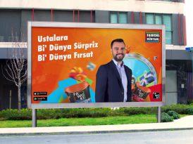 Fawori'nin yeni reklam yüzü Alişan