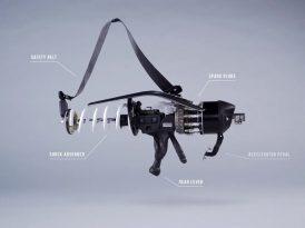 Taşıt parçalarıyla tasarlanan silahlar