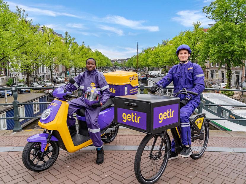 Getir artık Amsterdam'da