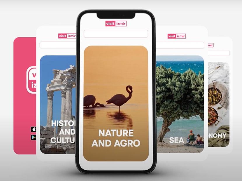 İzmir'in mobil turizm uygulaması: Visitİzmir