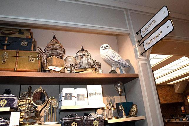 Dünyanın en büyük Harry Potter mağazası açıldı