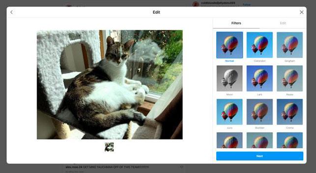 Instagram masaüstünden paylaşım özelliğini deniyor