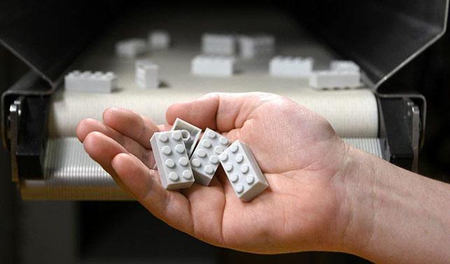 Geridönüştürülmüş LEGO'lar yolda