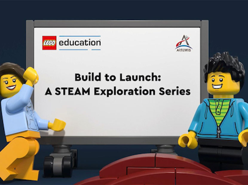 LEGO ve NASA'dan işbirliği
