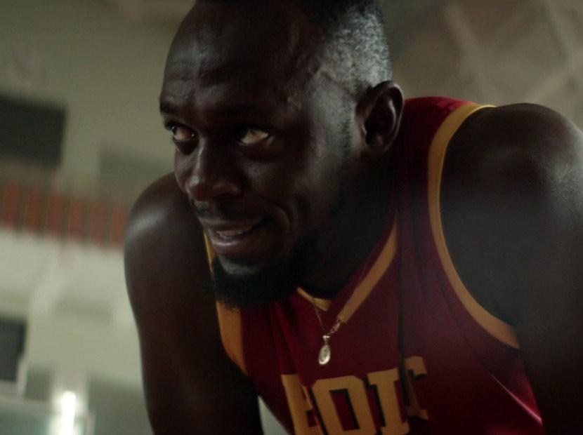 Usain Bolt geleceğin kahramanlarına karşı