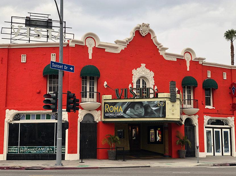 Tarantino tarihi Vista Theatre'ı satın aldı