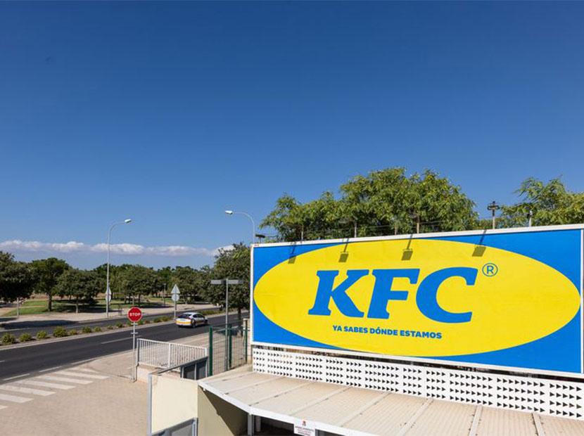 KFC logosuna tanıdık dokunuş