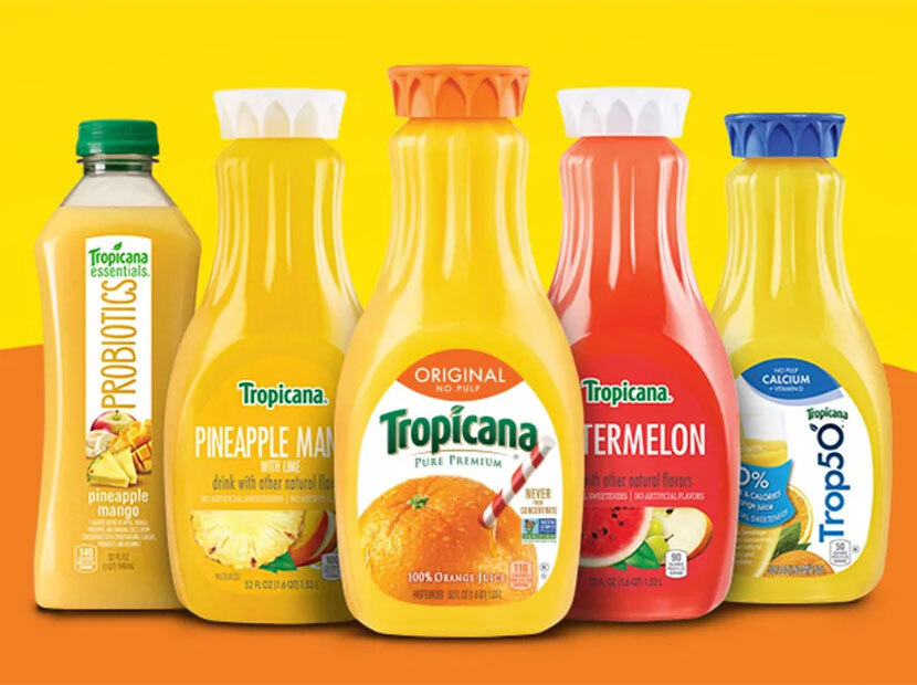 PepsiCo'dan Tropicana ve Naked kararı